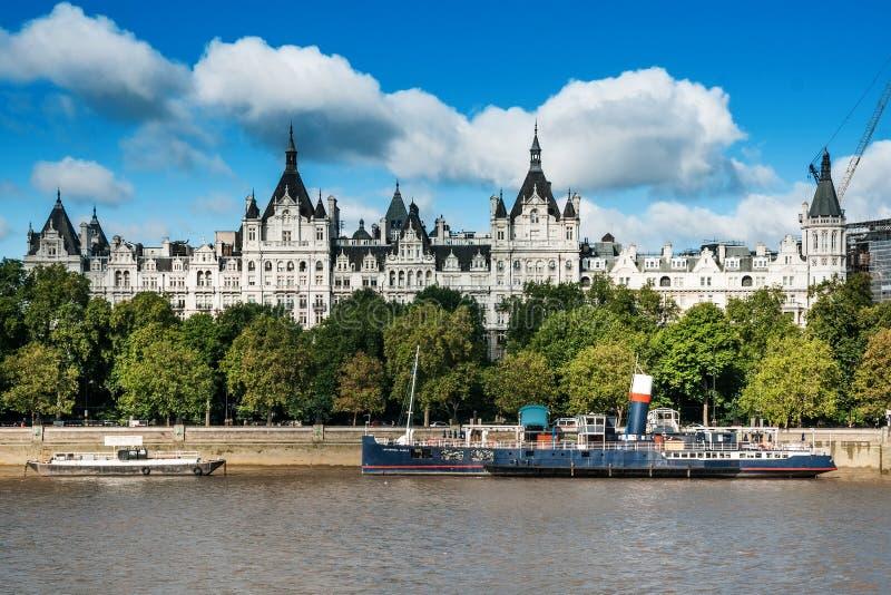 Corte di Whitehall a Londra fotografia stock libera da diritti