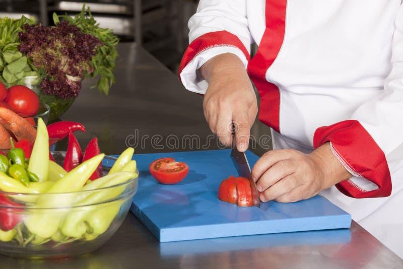Corte do cozinheiro chefe fotos de stock royalty free