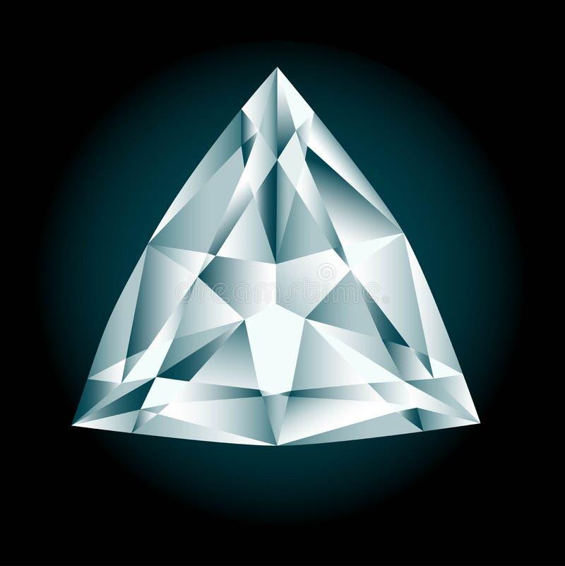 Corte do diamante ilustração stock
