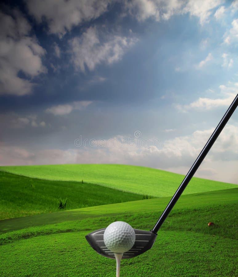Corte do golfe imagens de stock