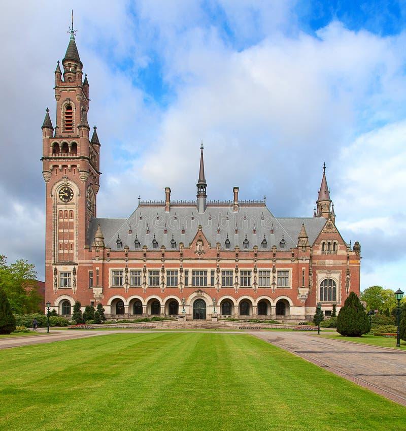 Corte internazionale di giustizia fotografie stock libere da diritti
