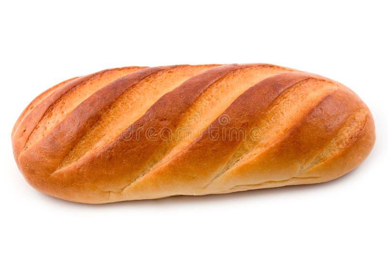 Corte largo del pan foto de archivo