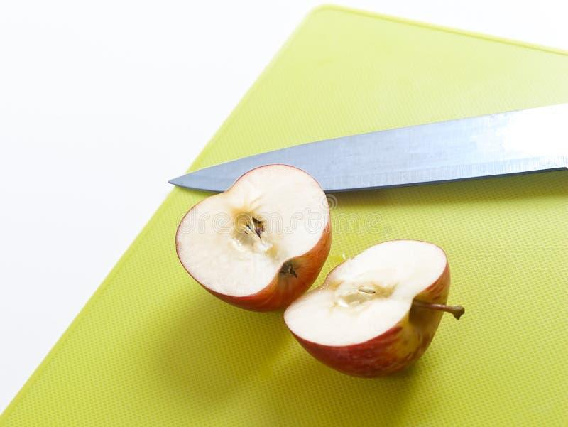 Corte a maçã fotografia de stock royalty free