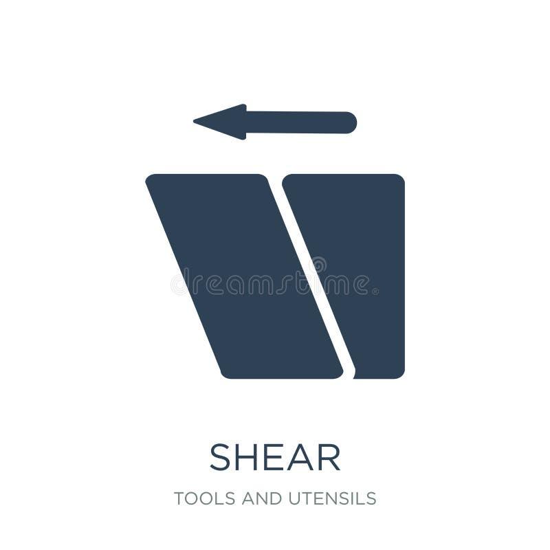corte o ícone no estilo na moda do projeto ícone da tesoura isolado no fundo branco símbolo liso simples e moderno do ícone do ve ilustração stock