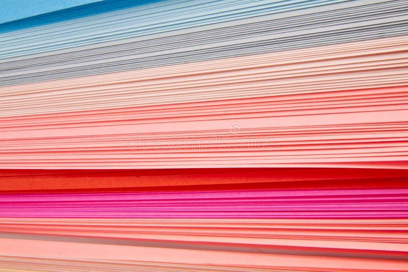 Corte o papel da cor imagem de stock royalty free