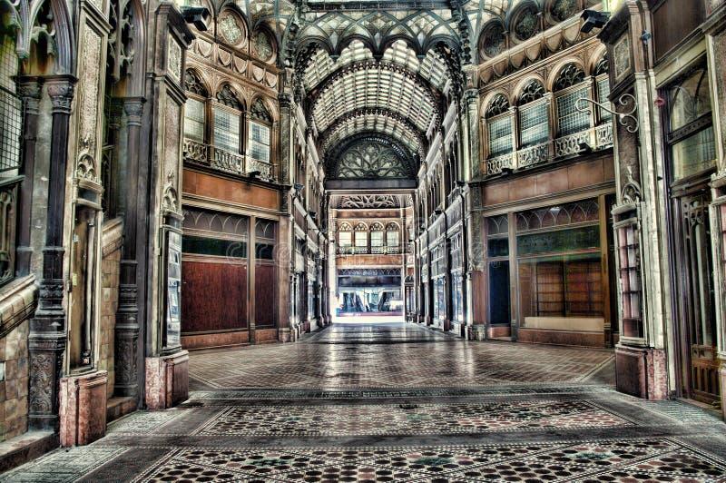 Corte parigina a Budapest fotografie stock