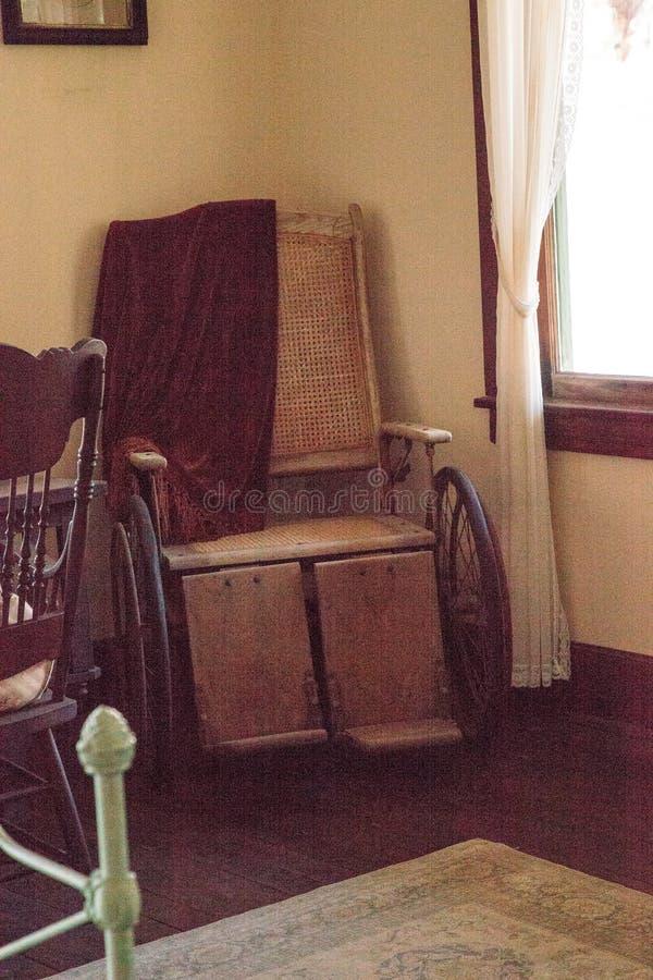 1904 corte planetária, Berthaldine Sterling Boomer Room no parque estadual histórico de Koreshan fotos de stock royalty free