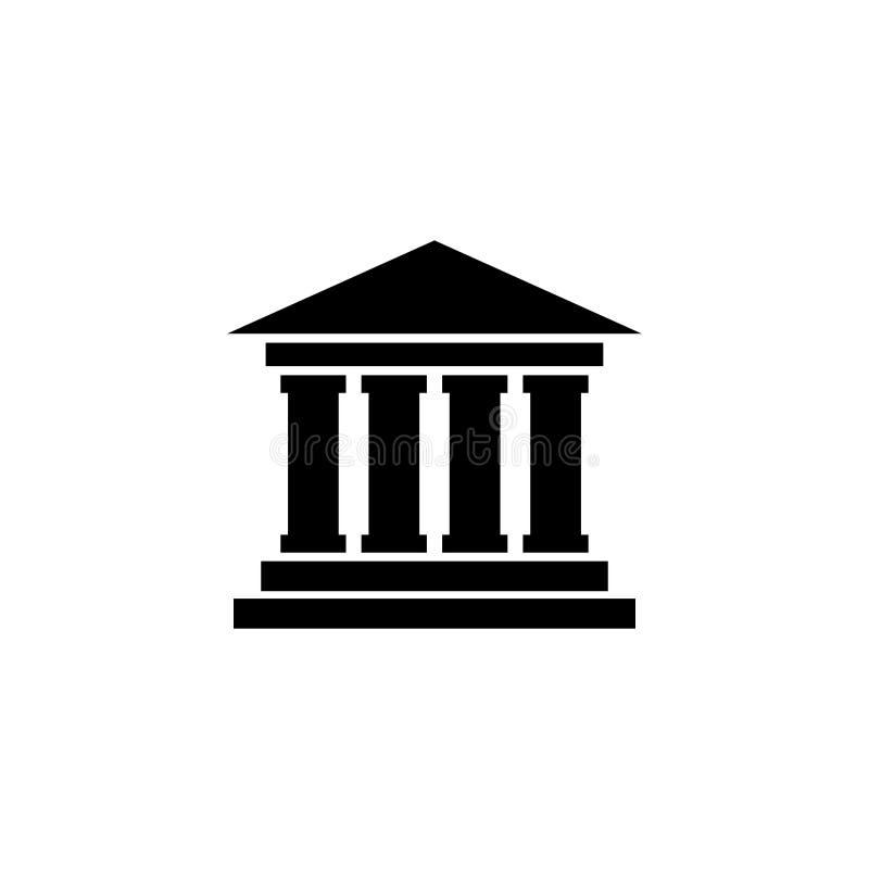 Corte que constrói o ícone liso do vetor ilustração royalty free