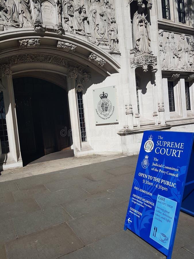 Corte suprema immagini stock