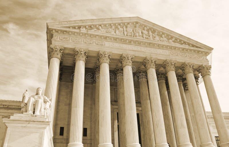 Corte suprema fotografie stock libere da diritti