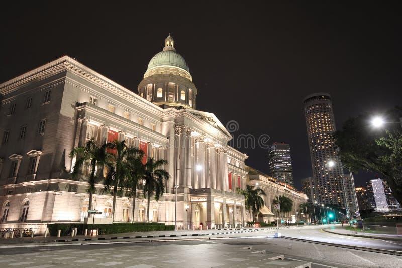 Corte suprema anterior Singapura fotos de stock royalty free