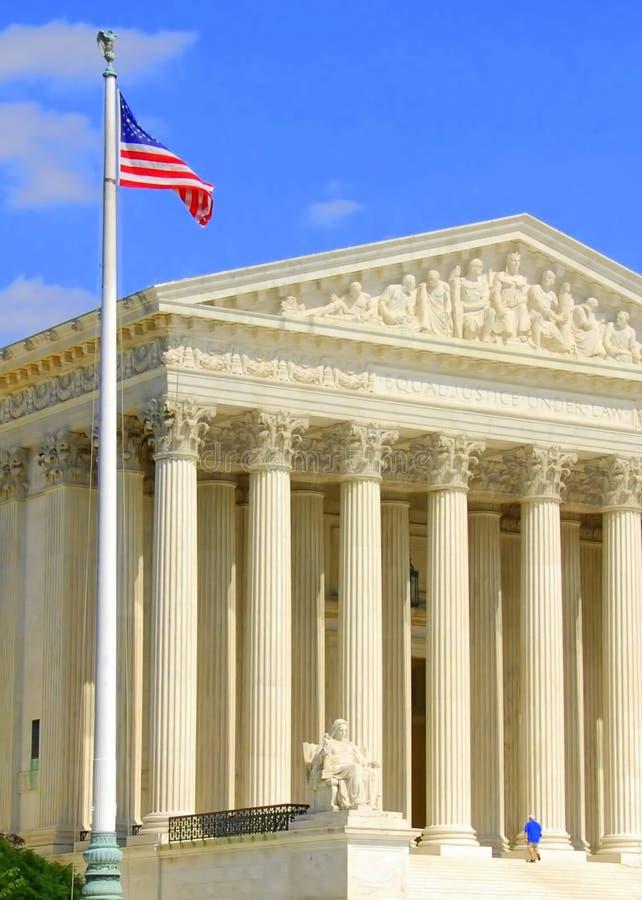 Corte suprema de Estados Unidos imagem de stock royalty free