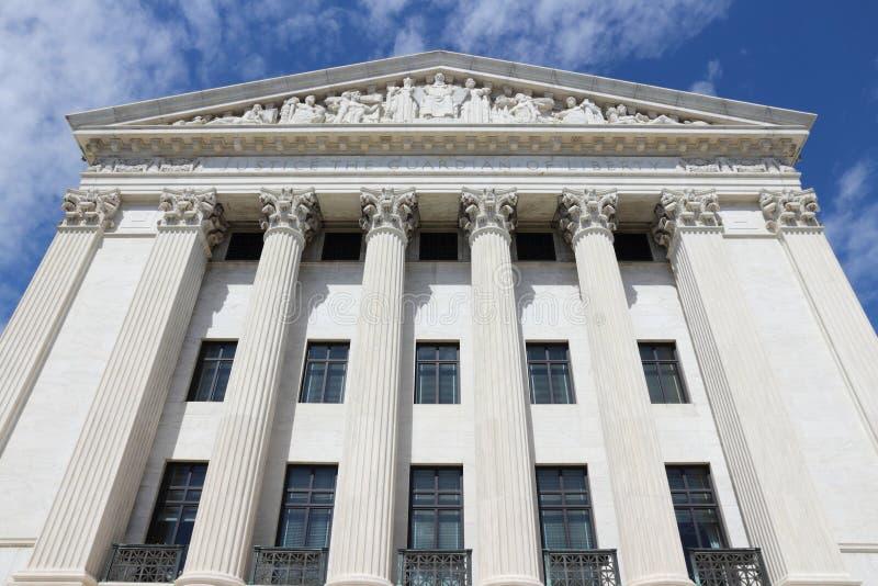 Corte suprema degli Stati Uniti immagine stock libera da diritti