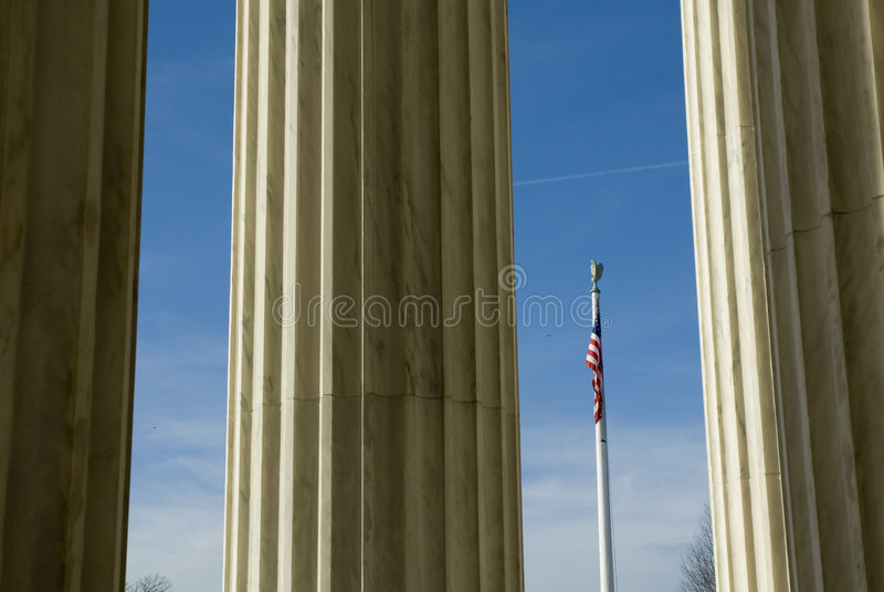 Corte suprema degli Stati Uniti in Washington DC fotografie stock libere da diritti