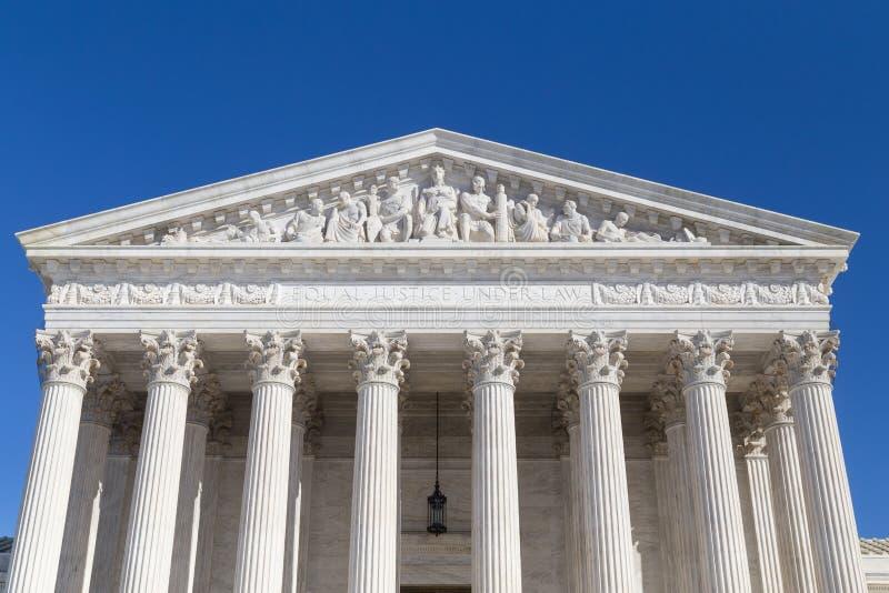 Corte suprema degli Stati Uniti, Washington DC fotografia stock