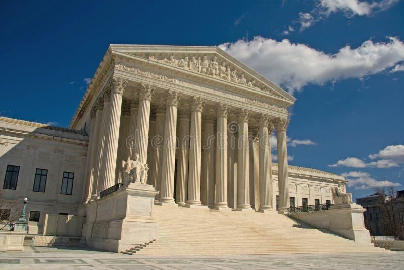 Corte suprema degli Stati Uniti, Washington DC immagini stock libere da diritti