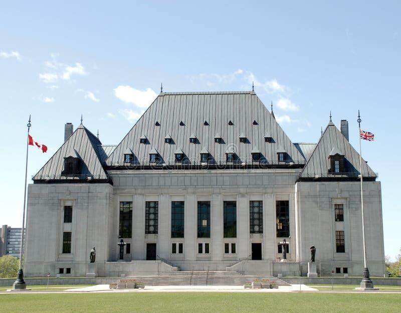 Corte suprema del Canada Ottawa fotografie stock