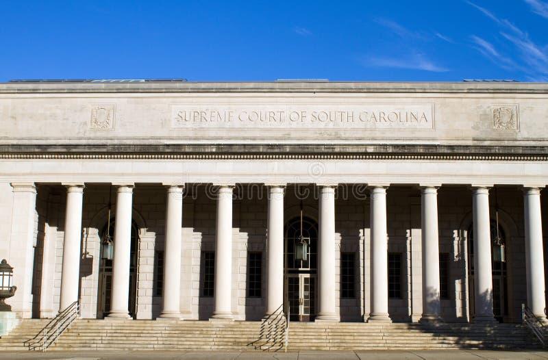 Corte suprema di Carolina del Sud immagine stock
