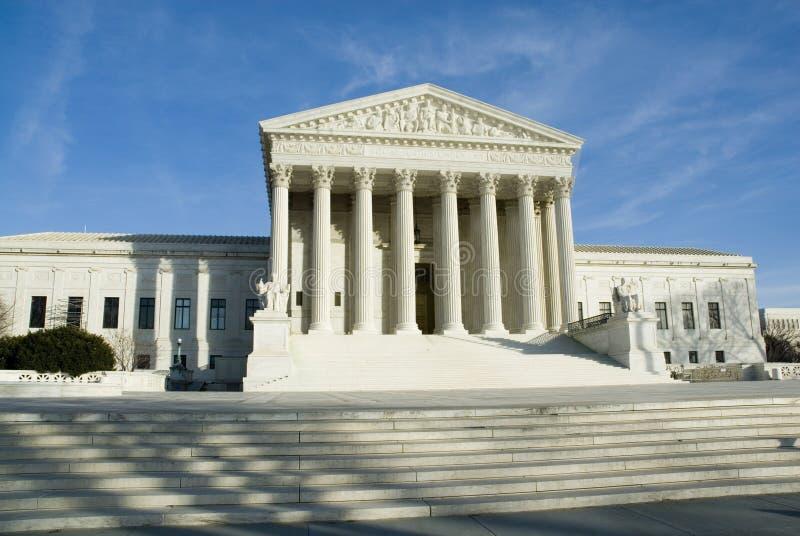 Corte suprema dos E.U. no Washington DC fotos de stock