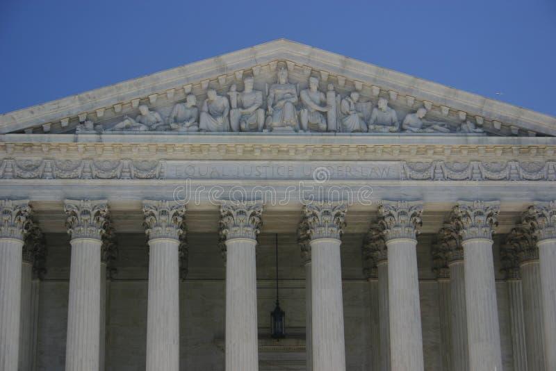 Corte suprema: justiça igual sob a lei fotos de stock royalty free
