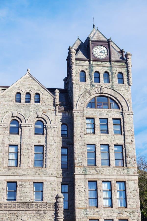 Corte suprema nel ` s, Terranova di St John immagini stock libere da diritti