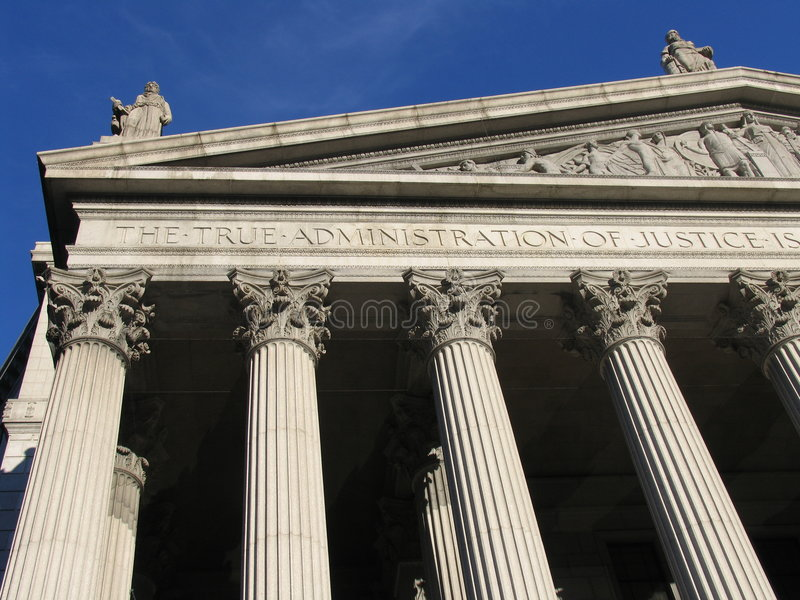 Corte suprema, New York fotos de stock
