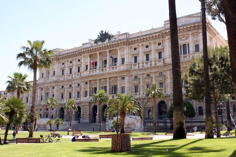 Corte suprema Roma Italia fotografie stock libere da diritti