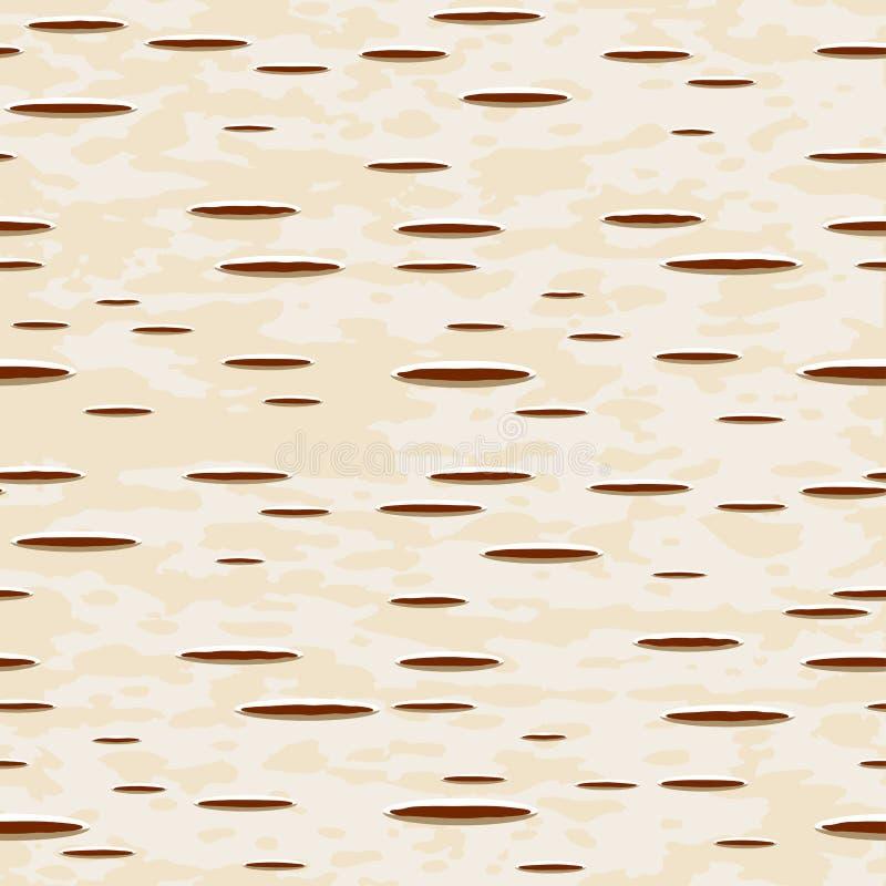Corteccia di betulla illustrazione vettoriale