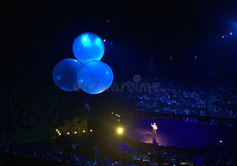 Corteo vid Cirque du Soleil arkivfoton