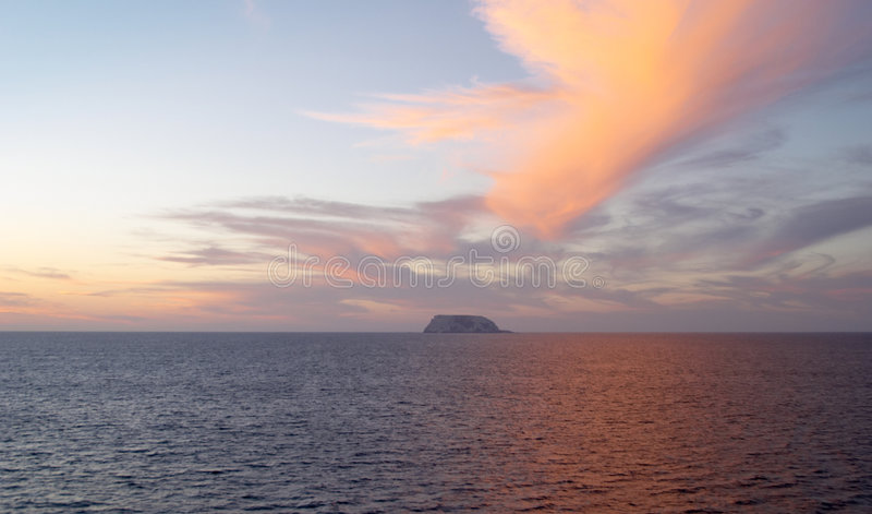 cortes de mar spektakularnego słońca fotografia royalty free