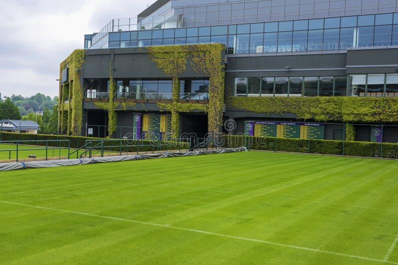 Cortes de visita de Wimbledon imagens de stock royalty free