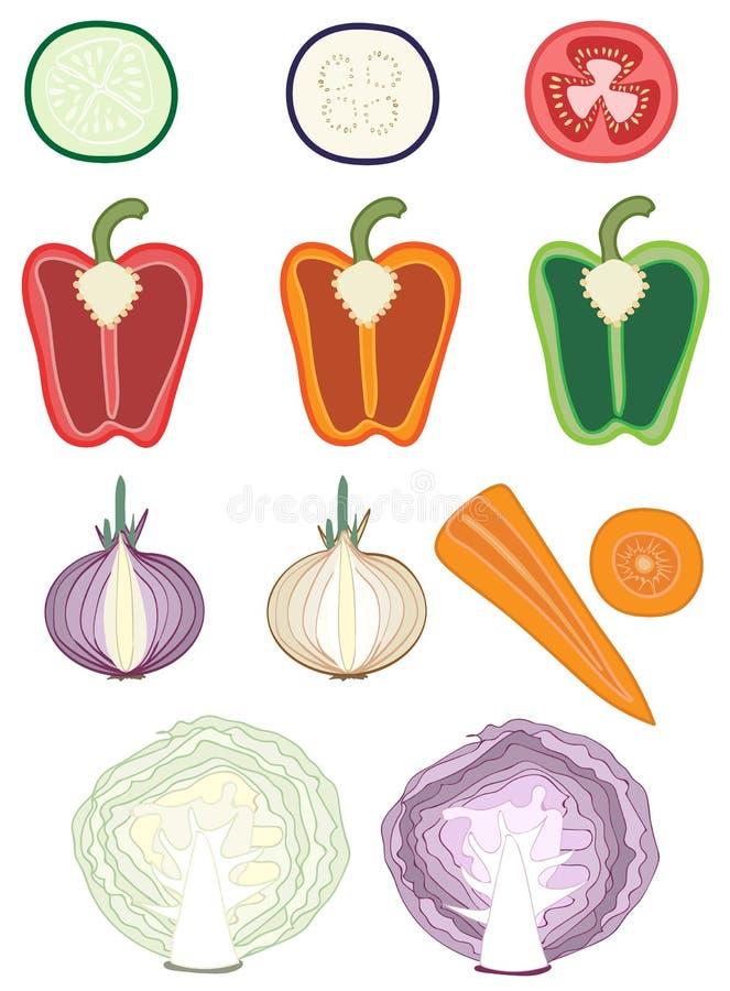 Cortes vegetales imagen de archivo libre de regalías