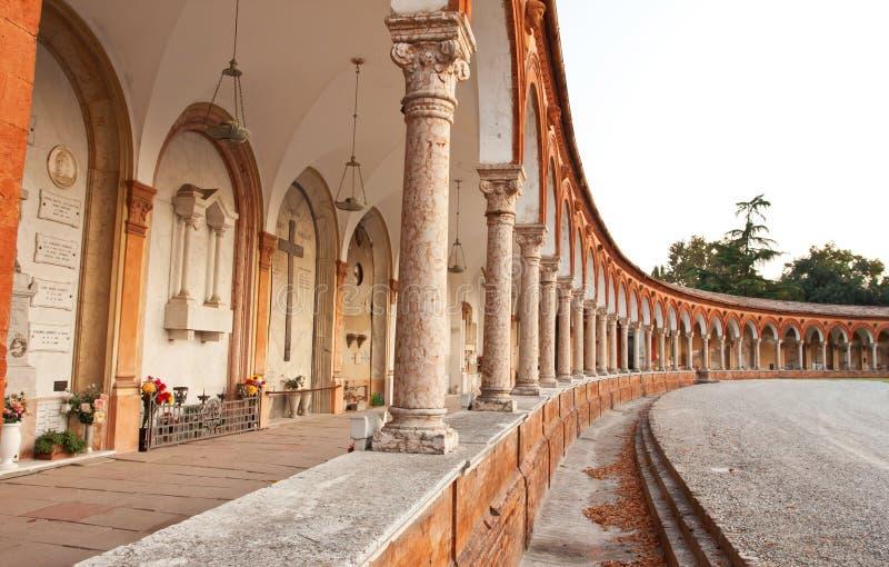 Cortesa in Ferrara stad, Italië royalty-vrije stock afbeelding