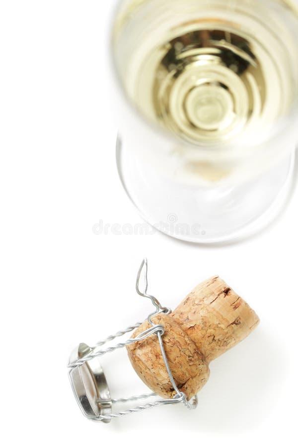 Cortiça de Champagne. fotografia de stock