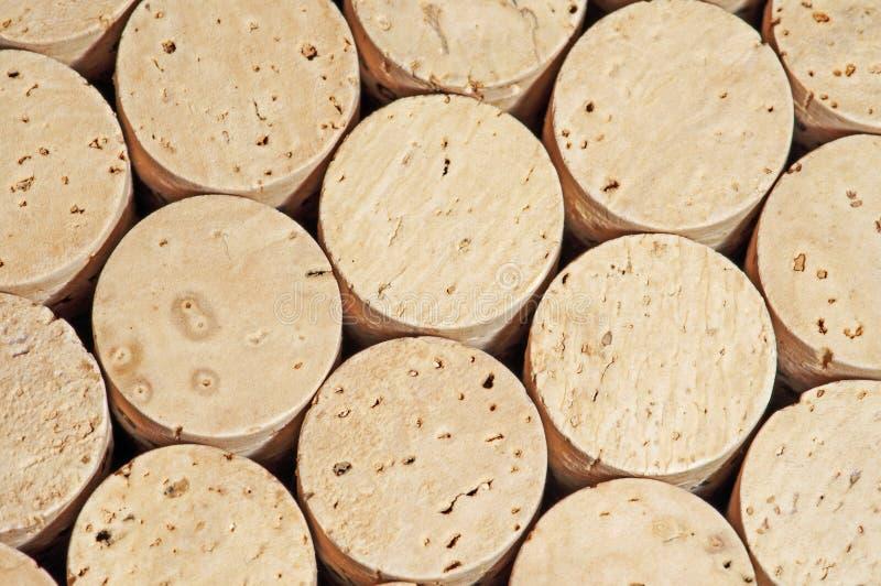 Cortiça do vinho foto de stock