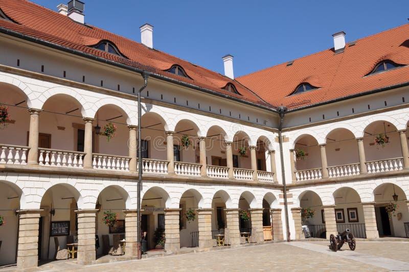 Cortile del castello di rinascita immagine stock for Disegni del mazzo del cortile anteriore