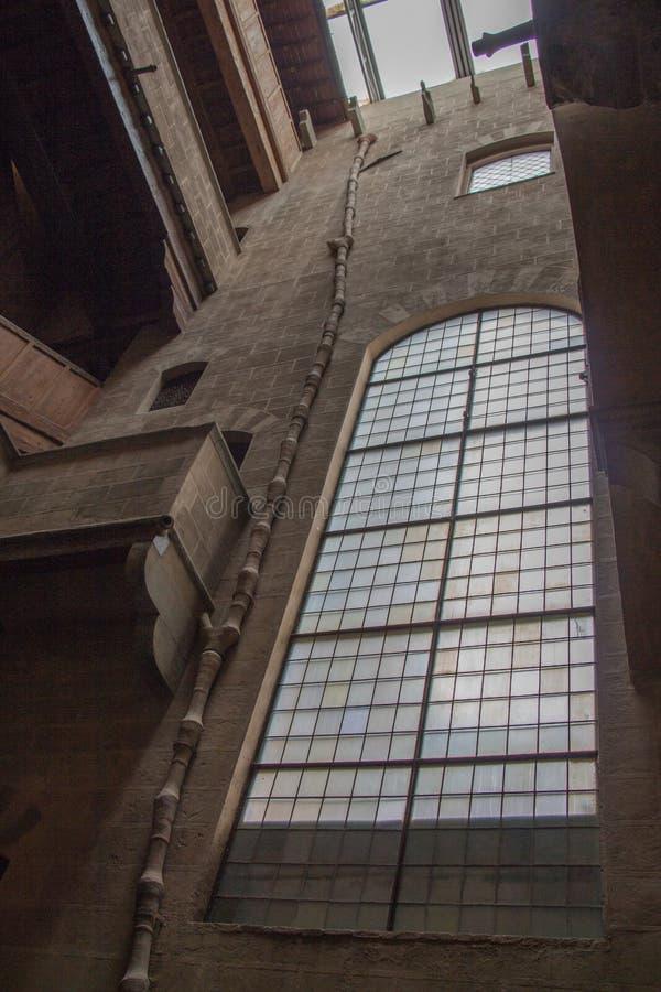 Cortile di Palazzo Davanzati Firenze L'Italia immagini stock