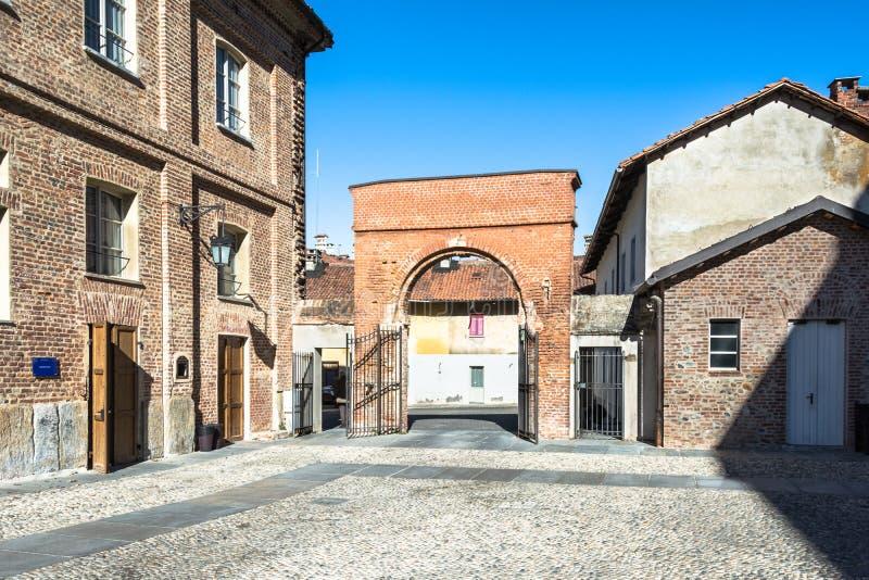 Cortile do abbeveratoio, La Venaria Reale, Italia imagens de stock