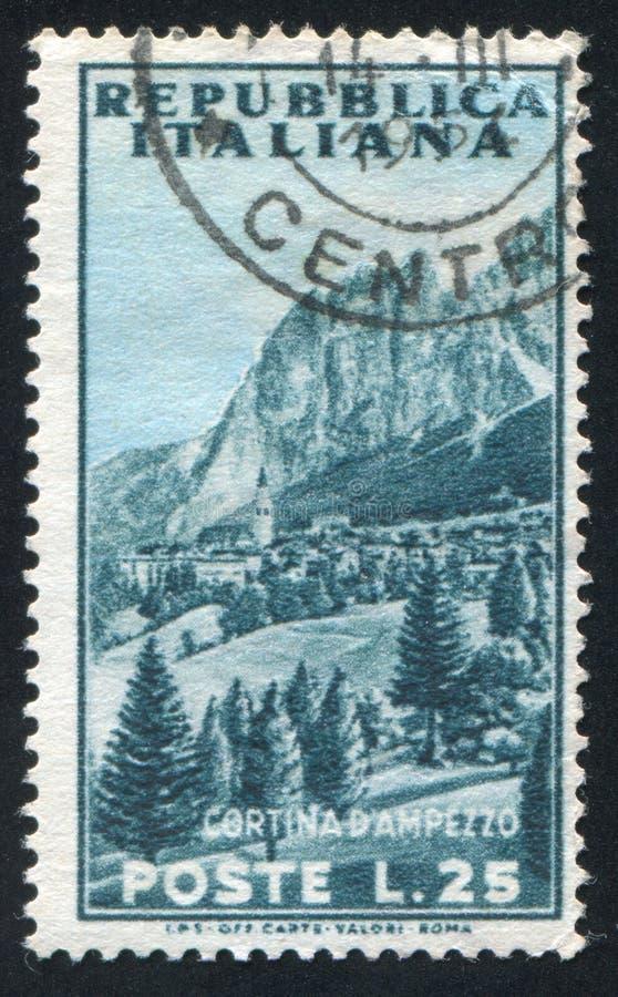 Cortina Ampezzo στοκ εικόνες