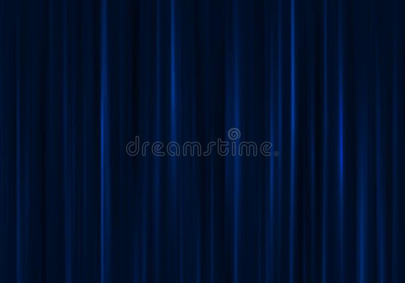 Cortina azul foto de archivo