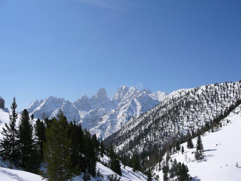Cortina d'Ampezzo foto de archivo libre de regalías