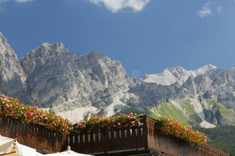 Cortina D`Ampezzo royalty free stock photography