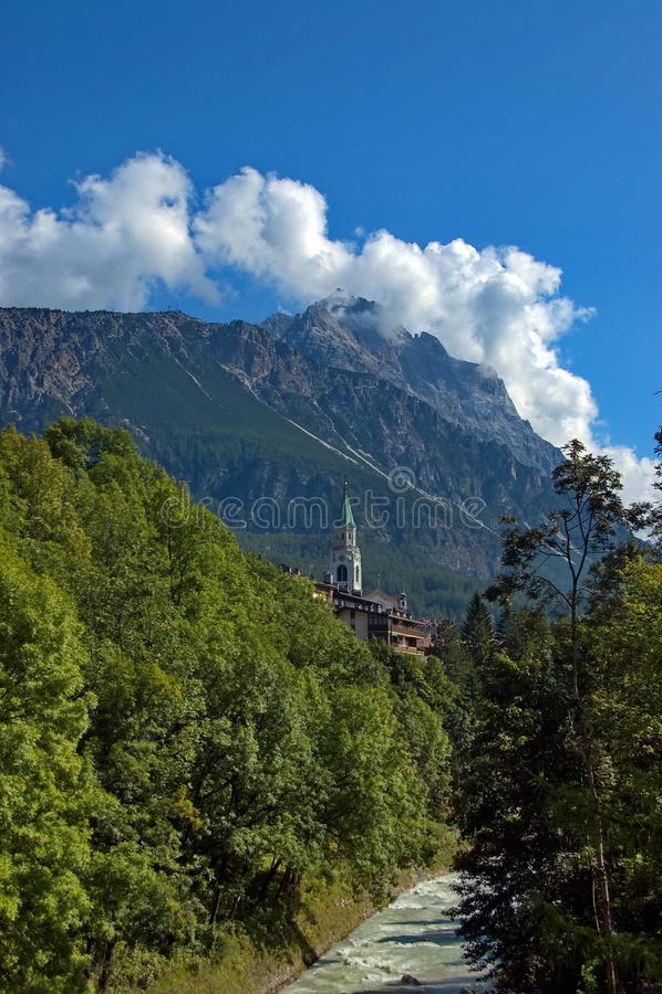 Download Cortina D'Ampezzo, Italy Royalty Free Stock Photos - Image: 26838748