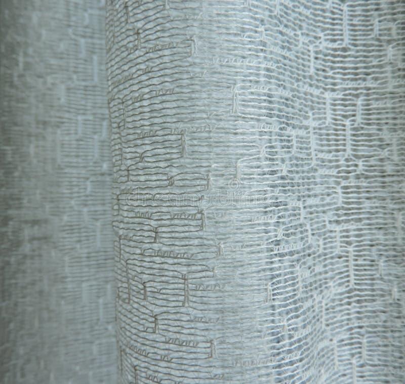 Cortina da tela do fundo com teste padrão abstrato foto de stock royalty free