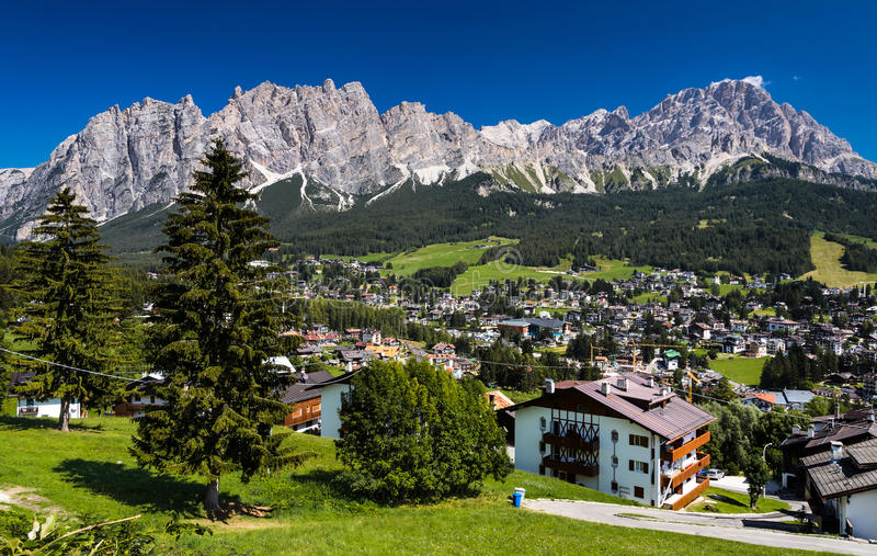 Cortina dAmpezzo, Italy stock photos