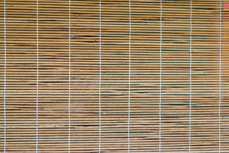 Cortina de bambu nos indicadores imagens de stock royalty free