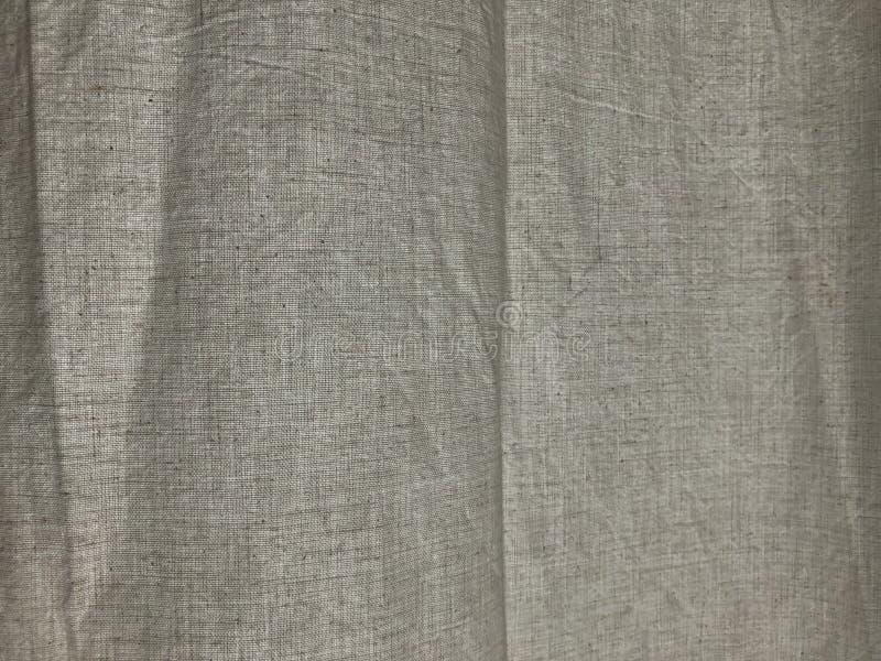 Cortina de lino en un fondo 02 del día soleado fotografía de archivo libre de regalías