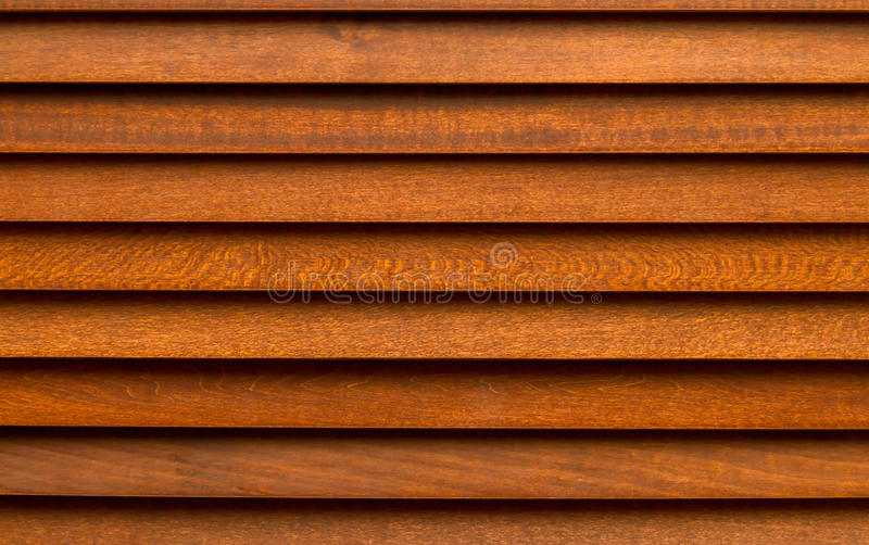 Cortina de madeira de Brown fotos de stock