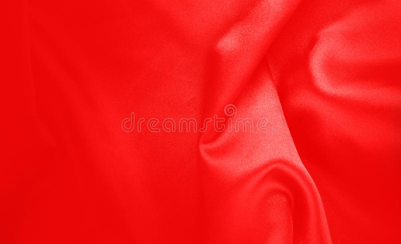 Cortina de seda lustrosa foto de stock royalty free