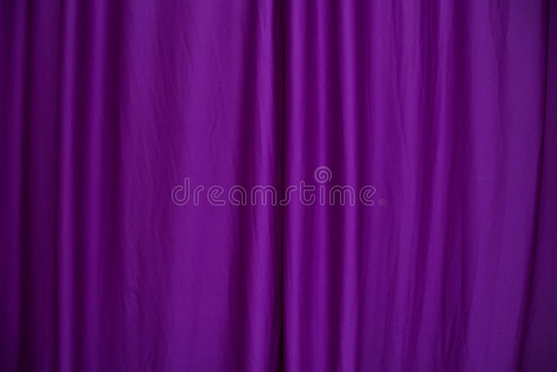 Cortina púrpura fotografía de archivo